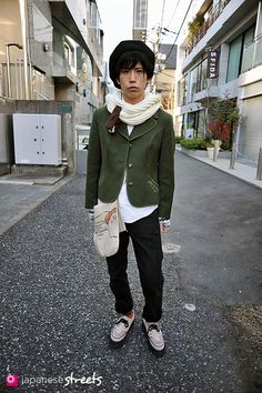 Japanese street fashion in Harajuku, Tokyo (MINX, LANG TRACHTEN, HARE, pecoranatura, Beams, writtenafterwards) via Japanese Streets