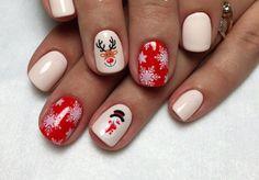 Nails 192 ideas of New Year and Christmas Nail Art Designs Christmas Nail Art Designs, Christmas Nails, New Years Eve Nails, Elegant Nail Designs, Pointed Nails, Nail Design Video, Nail Polish Art, New Year's Nails, Green Nails