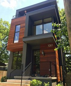 Great Image of Modern House Materials Exterior. Modern House Materials Exterior Ma Residential Tours 5 Sanders Modern House In 2018 My Home Wish Black House Exterior, Modern Exterior, Interior And Exterior, Room Interior, House Exterior Design, Facade Design, Exterior Colors, Exterior Homes, Exterior Paint