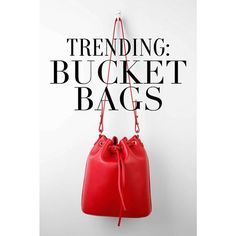 Bucket bags are so IN this season! Here's where to find cute and affordable bucket bags!