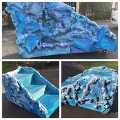 Little Mermaid Jr.  Ariel's Rock. Designed and created by Give 'Em Props Studio, LLC.  We ship Nationwide!