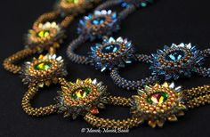 *P Chrysanthemum : Manek-Manek Beads - Jewelry | Kits | Beads | Patterns