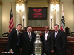 LA Kings' photo: assembly chamber with speaker of the assembly in sacramento