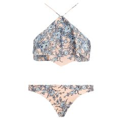 Porcelain Waterfall Bikini