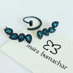 Earcuff e nosso mais novo anel, combinação com estilo! #mairabumachar  #lojapraiadocanto  #showroomsp  #pedidosporwhatsapp (11)997440079 www.mairabumachar.com.br