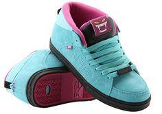 f33745a6f0c6 Mishka x Adio Vengeance Mid Skate Shoe - Purple and Blue wih Black Sole -  Sneaker ADIO