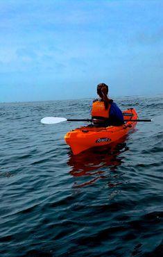 Kayak Monterey Bay . #BayFindersChallenge