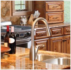 Photo of a kitchen featuring an Eclipse Stainless Steel Sink