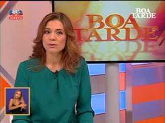 Apresentadora do Boa Tarde esclarece AVC em directo