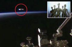 Em menos de uma semana, Nasa corta duas transmissões ao vivo quando ÓVNI passa sobre atmosfera da terra ~ Sempre Questione