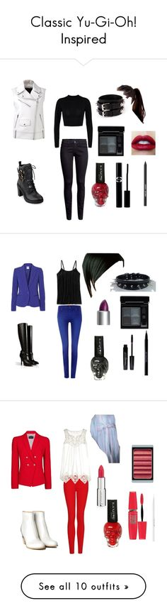 """""""Classic Yu-Gi-Oh! Inspired"""" by archerygirl236 ❤ liked on Polyvore featuring Yves Saint Laurent, H&M, Alexander Wang, GUESS, Givenchy, Bobbi Brown Cosmetics, Sisley Paris, 7 For All Mankind, Vero Moda and Patagonia"""