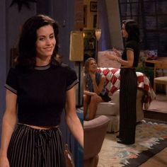 "My favorite looks of Rachel Green and Monica Geller ""Friends"" Rachel Green Outfits, Estilo Rachel Green, Friends Mode, Tv: Friends, Friends Tv Show, Monica Friends, Fashion Friends, Style Année 90, 90s Fashion"