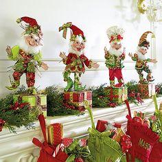 Mark Roberts Elf Stocking Holders