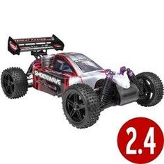 Shockwave Buggy 1/10 Scale Nitro (With 2.4GHz Remote Control)