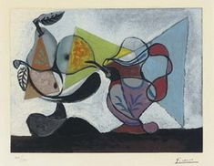 Pablo Picasso. Still Life with Pears and jug, 1960