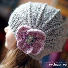 Шапки вязание спицами