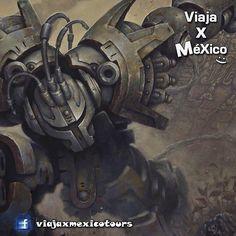 Racrufi guerrero azteca
