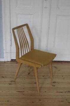 Stuhl 50er Jahre Aus Bucheholz In Berlin   Kreuzberg | Stühle Gebraucht  Kaufen | EBay Kleinanzeigen