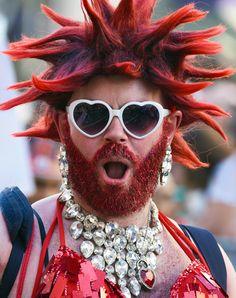 I am so British! I even look like the Union Jack. Gay Pride, Union Jack, British, Fashion, Moda, La Mode, Fasion, England, Fashion Models