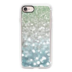 Winter Flurries - iPhone 7 Case, iPhone 7 Plus Case, iPhone 7 Cover,... ($40) ❤ liked on Polyvore featuring accessories, tech accessories, iphone case, iphone cover case, iphone cases and apple iphone case