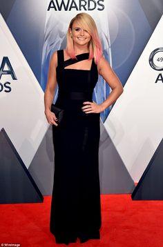 Tuff stuff:Miranda Lambert arrived alone at the 49th annual Country Music Association Awa...