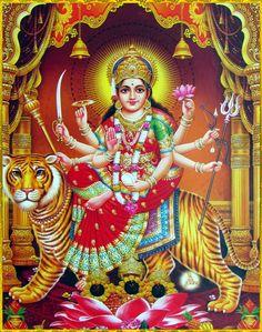 Navratri Special Rituals help to gain luck, fortune and new opportunities in life. Divine Goddess, Durga Goddess, Shiva Art, Krishna Art, Navratri Puja, Durga Ji, Maa Durga Image, Ram Wallpaper, Ambe Maa