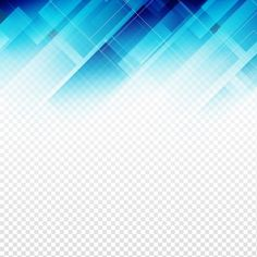 Fondo tecnológico geométrico de color azul Vector Gratis