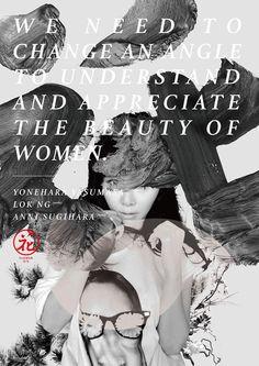 THE BEAUTY OF WOMEN(花)  PHOTOGRAPHY: Yonehara Yasumasa ARTIST: LOK NG MODEL: ANNI SUGIHARA