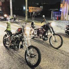 tikitodd:  無人…  #Harleydavidson #shovelhead by wakazu0317 http://ift.tt/1MvhglS   Shovelhead choppers