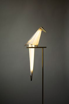 Perch Light A Beautiful Origami Bird Lamp | Lighting | Home