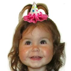 This Mini Birthday Hat Hair Clip Will Add Extra Cuteness To Any Outfit Plus