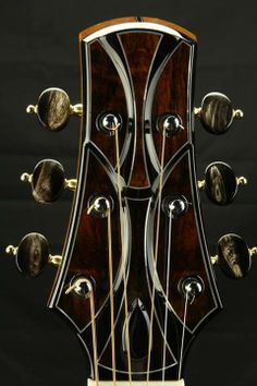 Doerr Guitars headstock