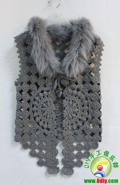 Don't love the vest but I like the fur neckline