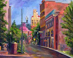 Patton Avenue -Asheville Art and Prints j pittman