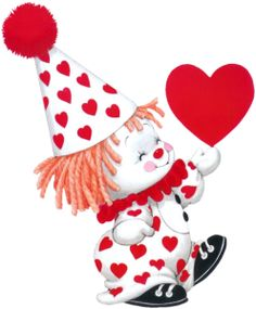 Images Ruth Morehead - Page 2 Clown Mignon, Drawing For Kids, Art For Kids, Teddy Bear Tattoos, Cute Clown, Clown Faces, Birthday Wishes Cards, Holly Hobbie, Gif Animé