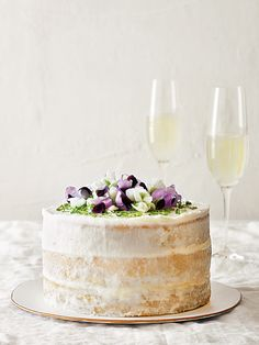 Coconut and Lime Curd Cake Recipe | Williams Sonoma Taste