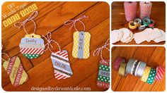 Winners of the Creative Gift Wrapping Washi Tape Uses, Washi Tape Crafts, Paper Crafts, Diy Crafts, Tapas, Craft Presents, Creative Gift Wrapping, Handmade Tags, Christmas Gift Wrapping