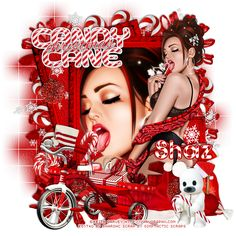 Tagaliciouz Creationz: Candy Cane Christmas