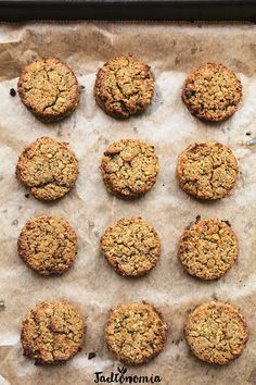 Baked falafel with dates Asparagus, Broccoli, Dog Food Recipes, Vegan Recipes, Baked Falafel, Party Snacks, Healthy Cooking, Nutella, Dairy Free
