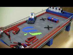 Lego NXT Pinball Machine - Gameplay test #2