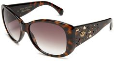 Juicy Couture Womens Rich Girl/S Resin Sunglasses,Tortoise Frame/Brown Gradient Lens,one size: Juicy Couture