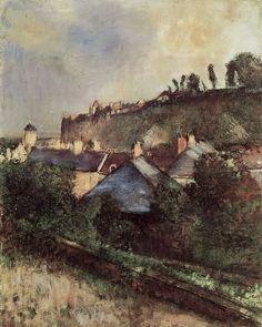 Edgar Degas (1834-1917, France) | Paysage