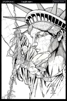 Michael Turner - cover of The New York Comic Con 2008 Sketch book