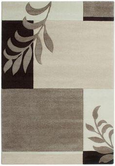 Florida 930 Cream Teppich Carpet Modern Grau Beige Braun Weiss Style Einfach