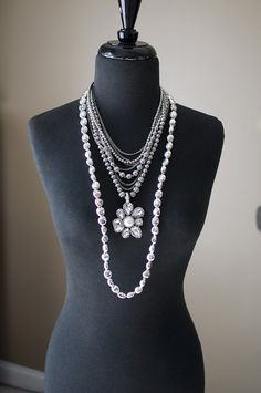 "You'll be noticed when you walk into a room wearing this combo: Three of my favorite pieces all paired together make a really ""WOW""......  Mainstream, Petal Pusher & Silver Chic #premierdesigns"
