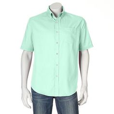 Croft & Barrow® Solid Button-Down Shirt - Men
