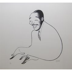 Al Hirschfeld, Duke Ellington