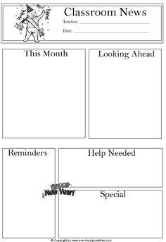 www.preschoolprintables.com / January