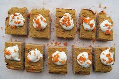 Eiwitrijke carrotcake - Fit with Marit