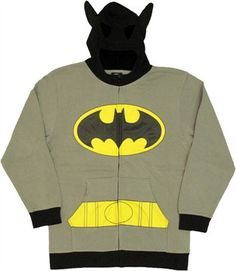 Batman Costume Suit Hoodie    @Mary Daigle